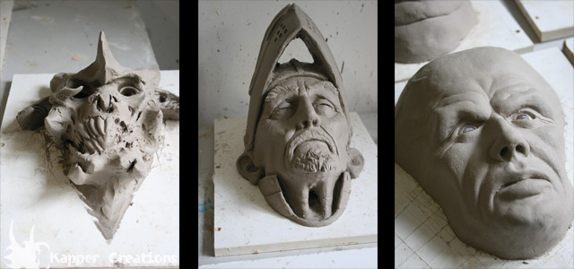 Creature designs from Jordu Schell course