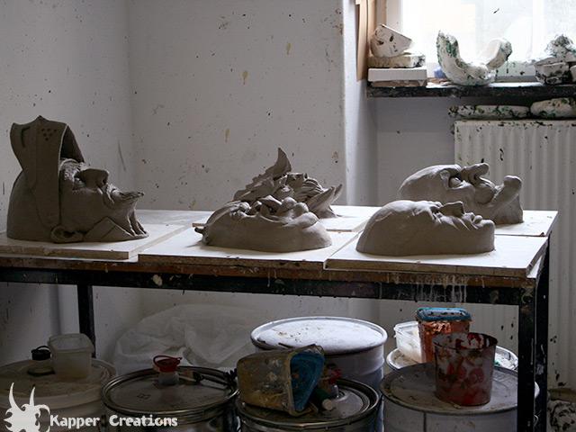 Mask at workshop