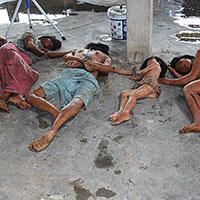Rambo Dead villagers