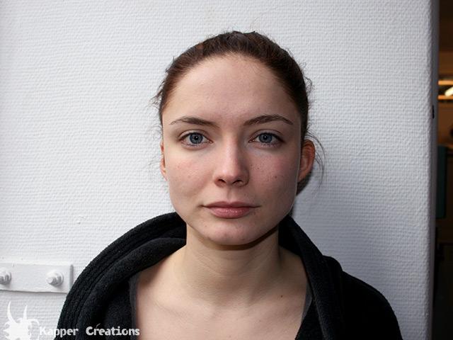 Neel Rønholt uden makeup