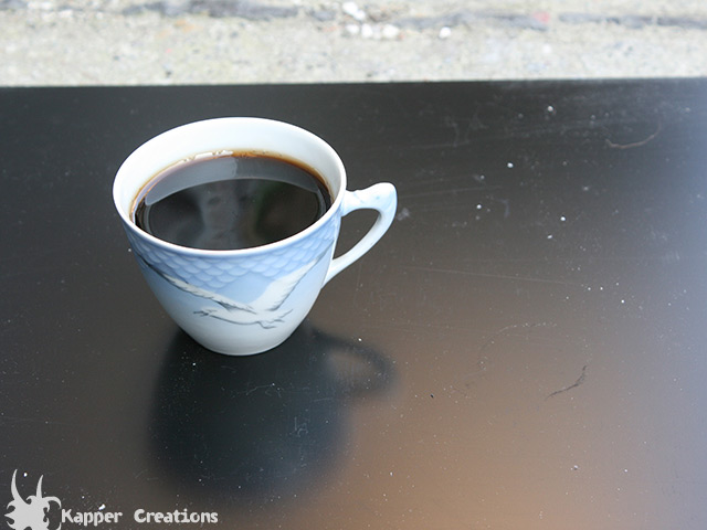 Fake coffee cup