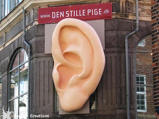 Den stille pige Ear